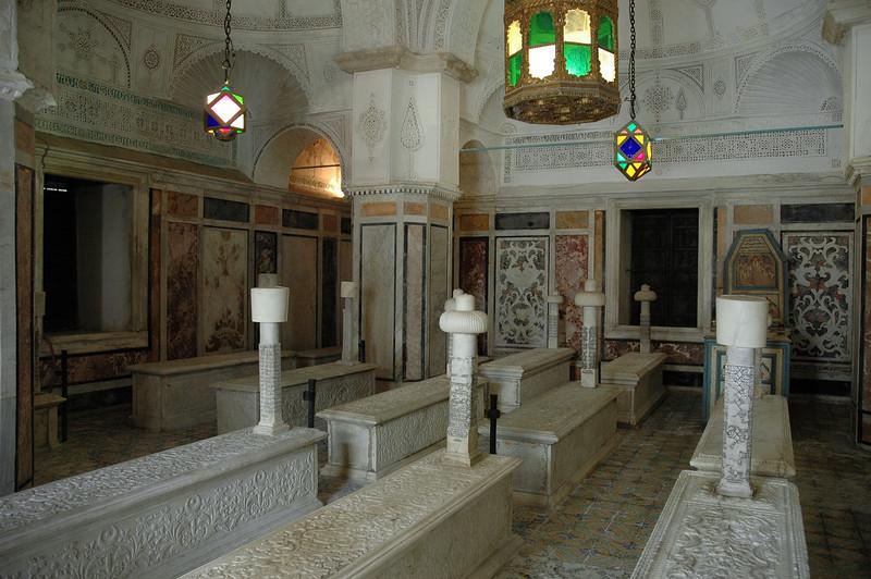 Islamic tombs in the capital, Tunisia