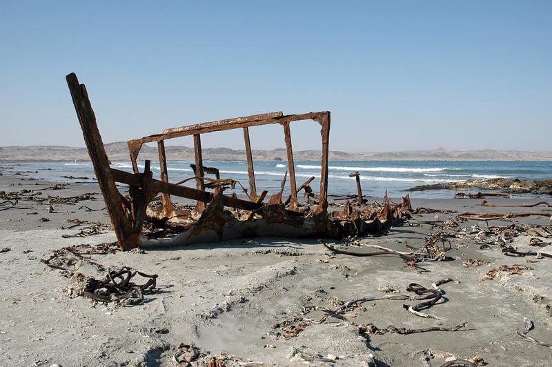 Shipwreck on the Skeleton Coast, Namibia