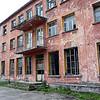 Abandoned textile mill near Berat, Albania