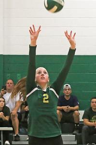no.2, Alexis McKelvey Brick Township High School girls volleyball v/s Brick Memorial in Brick, NJ on 9/18/18. [DANIELLA HEMINGHAUS | THE OCEAN STAR]