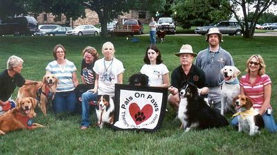 Father Hennepin Parade, Pals On Paws group that participated in the parade.