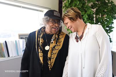 T.D. Elder & Mayor Vi Lyles
