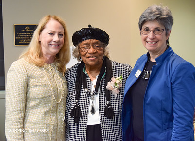Thereasea Delerine Elder: Donation Reception at UNC Charlotte