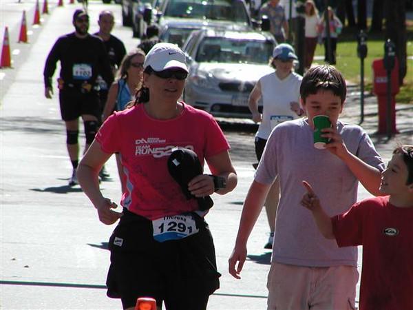 1st marathon Denver Marathon 2006