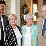 Ken and Beulah Rogers with Theresa and John Bondurant.
