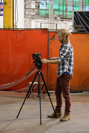 Thermo BTS Film Shoot