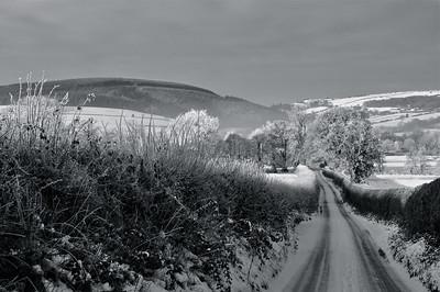 Winter in Shropshire