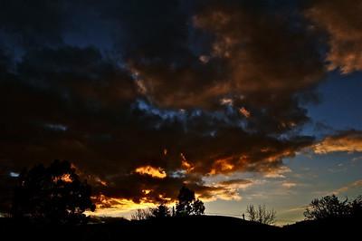 Sunset over Blakeridge