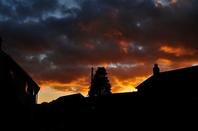 Sunset at Colebatch