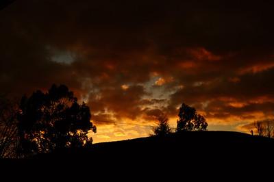 Another Sunset over Blakeridge