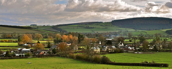 Colebatch in the Autumn