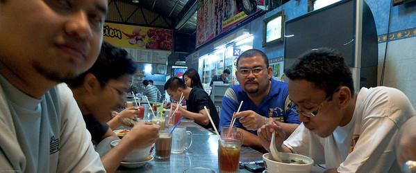090525 Post Badminton Makan
