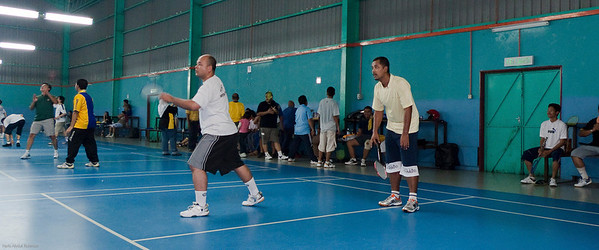 090525 Ex-Terendak Badminton  Payut and Judin
