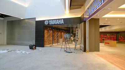The Yamaha Music School still under renovation