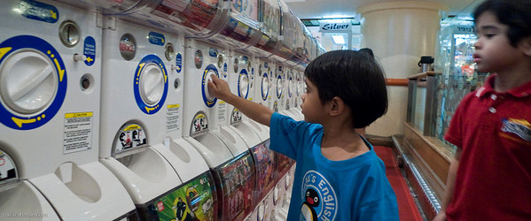 You'll need tokens for that - Sungai Wang Plaza
