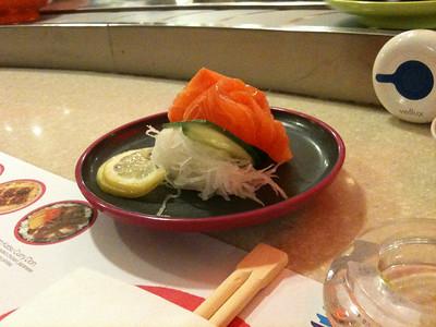 Hmm! Sushi!