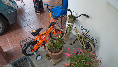 Bicycles at Cemerlang House