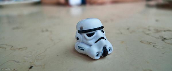 Stormtrooper. Chinoz. KLCC.