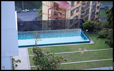 The pool closed this week for maintenance work