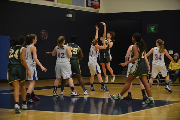 2014-02-11 Girls Basketball Cancer Awareness