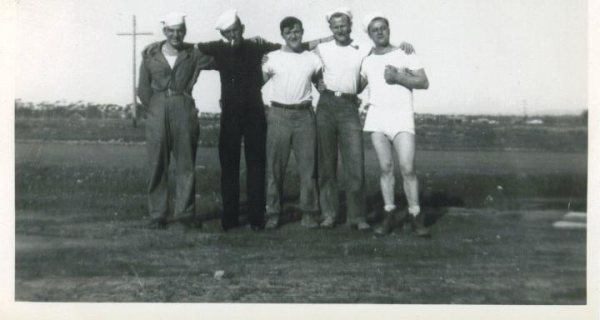 Just a great-looking bunch of Seabees - names unknown.  My kind of people.
