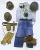 """Seabee WWII dress.  From """"History Of The Navy"""" by Norman Friedman ISBC # 1-84065-343-4"""
