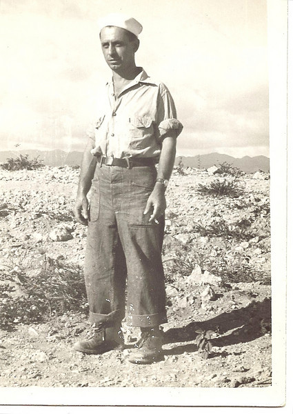 Manuel Francis Rosa.  Often called 'Manny' or 'Pete'.  Chief Petty Officer 137th Battalion, 595th CBMU
