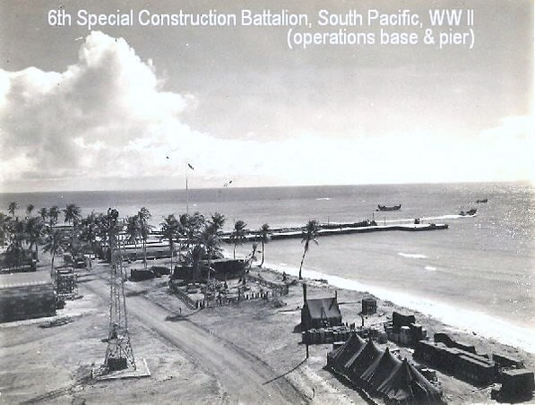 6th Special Construction Battalion Operations Base Pier