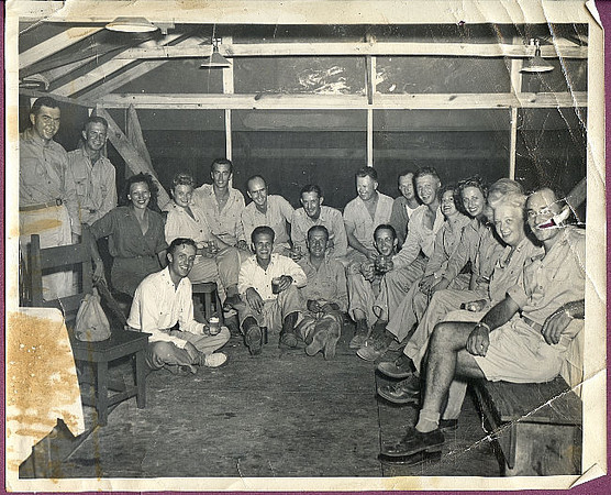 75th Seabees in the South Pacific.
