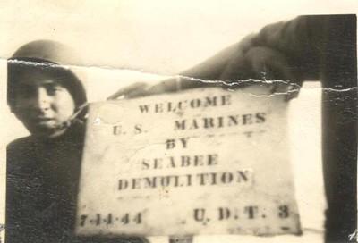 UDT-3 Seabee Demolition Team at Guam