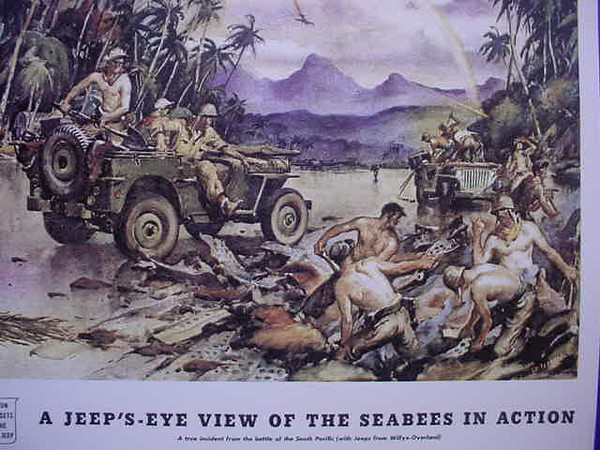 "South Pacific ""Seabees in action!"""