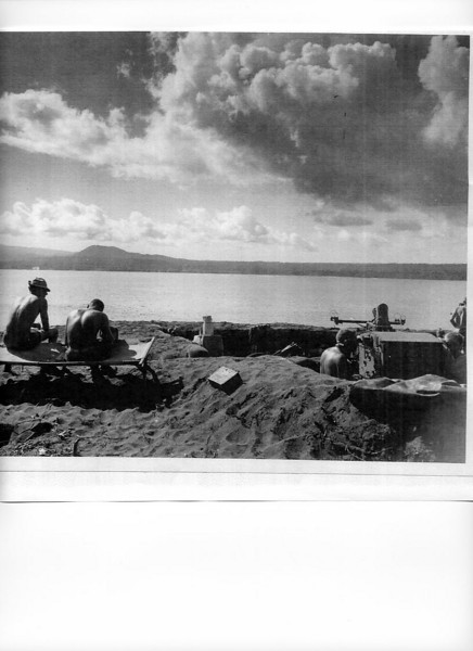 19th Seabees at Cape Gloucester