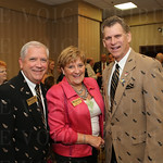 Roy and Kathy Potts with Bill Lamb.