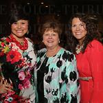 Nicole Twigg, Dineene Bradley and Margaret Romine.