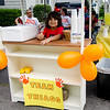 The Molinari Family, of Fitchburg, raised money for the Leukemia Lymphoma Society on Saturday afternoon with a lemonade stand on Hancock Street. Five-year-old Thiago Molinari, pictured, has been battling Leukemia for three years now. SENTINEL & ENTERPRISE / Ashley Green