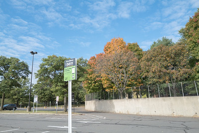 autumn in the parking lot