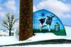Painted 'Cow Barn' Near Lititz, Pennsylvania