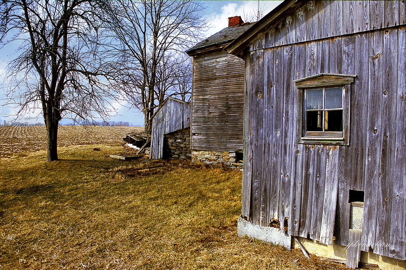 Old Farm Buildings in Pennsylvania South of Harrisburg Pa.