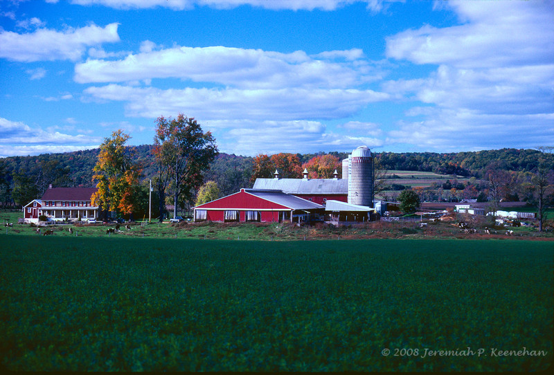 Berks County Farm, Early Fall Pennsylvania