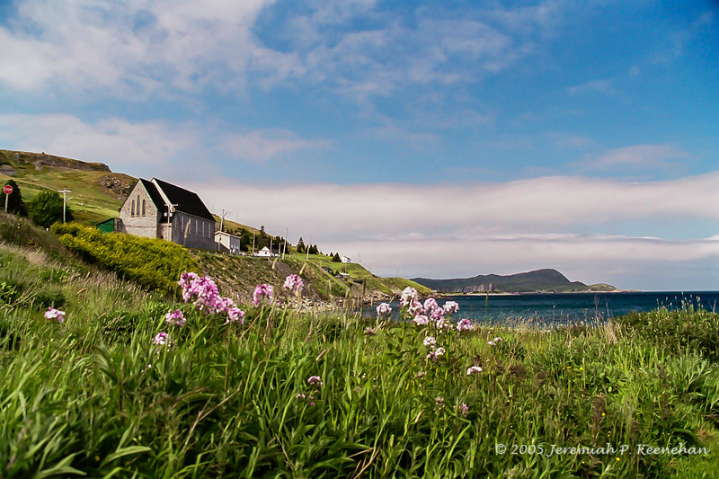 The Town of Ferryland, Newfoundland