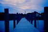 The Ocracoke Island Lighthouse at Twilight