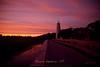 Ocracoke Island Lighthouse at Sunset