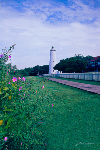 The Lighthouse on Ocracoke Island NC ca 2001