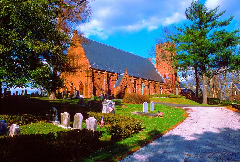 St. Thomas' Episcopal Church in Whitemarsh, Pennsylvania