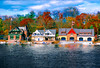 BOATHOUSE ROW - PHILADELPHIA PA