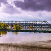 'The Walnut Street  Bridge' to City Island - Harrisburg Pa