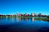 Harrisburg Pa Skyline from City Island on a Summer Day