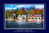 Undine, Penn-AC and University of Pennsylvania Boathouses in Philadelphia, Pa.