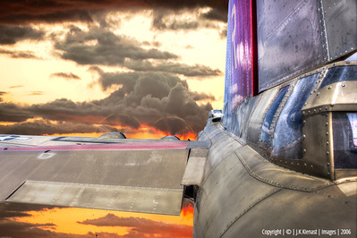 B-17 Into The Sunset CFA