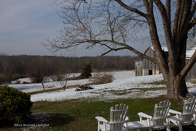 View from Dr. Mudd's back porch. Waldorf, Maryland.